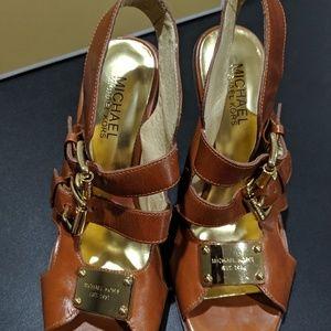 Michael Kors Brown Heels with Box